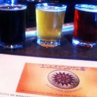 Photo taken at Black Lotus Brewing Co. by Joe M. on 12/27/2012