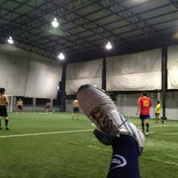 Photo taken at The Hattrick Football Club by เจนวิทย์ ศ. on 9/20/2013