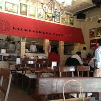 Photo taken at Backpackers cafe, Elante by Rohini R. on 11/11/2013