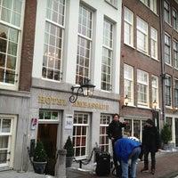 Photo taken at Ambassade Hotel by Alex T. on 1/18/2013