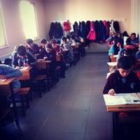 Photo taken at Çukurcayır İmam Hatip Ortaokulu by Nagihan K. on 11/5/2014