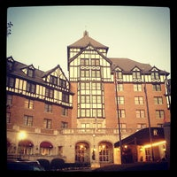 Photo taken at Hotel Roanoke & Conference Center - Curio Collection by Hilton by Marie E. on 11/17/2012
