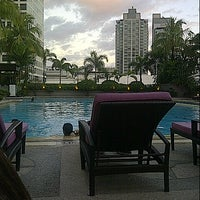 Photo taken at Makati Shangri-La by Verna F. on 2/16/2013