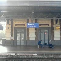Photo taken at Stazione Prato Centrale by Jimboy R. on 10/20/2012