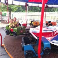 Photo taken at Memphis Kiddie Park by Jenn on 7/20/2013