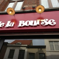 Photo taken at De la Bourse by Jonas Z. on 6/16/2013