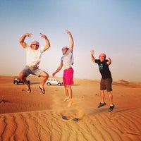 Photo taken at Al Maha Desert Resort & Spa by Travis T. on 4/12/2014