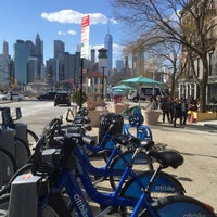 Photo taken at Citi Bike Station by Max S. on 3/21/2016