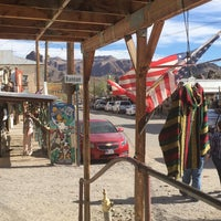 Photo taken at Oatman, AZ by Max S. on 10/14/2016