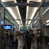 Photo taken at Concourse D by Max S. on 3/25/2013