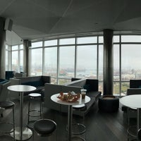 Photo taken at 66 Rockwell Place - Sky Lounge by Max S. on 10/14/2017