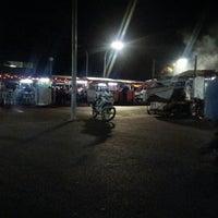 Photo taken at Pasar Malam Serian by Momo T. on 1/18/2013