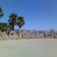 Foto tomada en Playa de La Malagueta por Anja B. el 8/10/2013