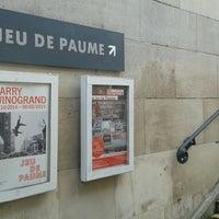 Photo taken at Jeu de Paume by Sébastien F. on 11/7/2014