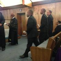 Photo taken at Bethel African Methodist Episcopal Church by Roderick B. on 9/19/2013