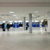 Photo taken at Terminal B (KBP) by Сергей Н. on 2/28/2013