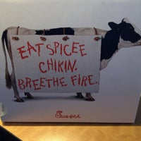 Photo taken at Chick-fil-A by Lena A. on 1/12/2013