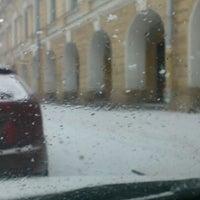 Photo taken at Парковка Философского Факультета СПБГУ by Иль Я. on 1/9/2013