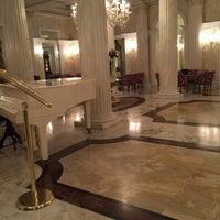 Photo taken at Grand Hotel Des Bains by Pierangelo R. on 3/16/2016