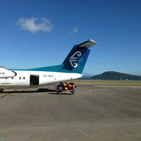 Photo taken at Rotorua International Airport (ROT) by Harshad B. on 2/13/2013