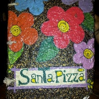 Photo taken at Santa Pizza by Kelly G. on 4/2/2013