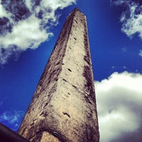 3/23/2013 tarihinde Tokuyuki K.ziyaretçi tarafından The Obelisk (Cleopatra's Needle)'de çekilen fotoğraf