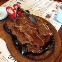 Photo taken at So Kong Dong Restaurant 소공동 순두부 by Tokuyuki K. on 11/10/2012