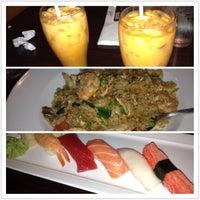 Photo taken at Sake Thai and Sushi by Rudy P. on 1/21/2013