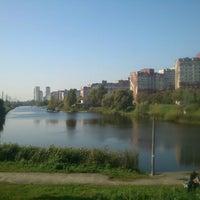 Снимок сделан в Троєщинський канал пользователем Ta4ka Z. 10/3/2012