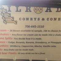 Photo taken at Railroads Coneys And Cones by Ray S. on 4/16/2013