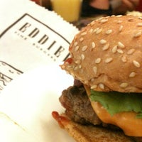 Photo taken at Eddie Fine Burgers by Glener A. on 4/14/2013