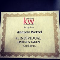 Photo taken at Keller Williams Realty by Andrew W. on 5/12/2015