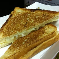 Photo taken at The Grilled Cheese Truck by Megan D. on 10/6/2012