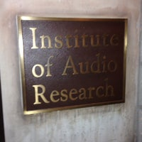 Photo taken at Institute of Audio Research by Kirk M. on 10/19/2013