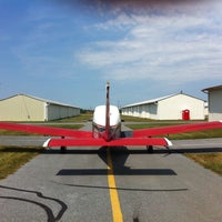 Photo taken at Lancaster Airport (LNS) by Eric G. on 4/28/2013