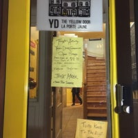 Photo taken at Yellow Door by Sabrina Alexandra R. on 12/5/2015