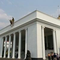 Photo taken at Bogor Palace by Simon H. on 9/29/2014