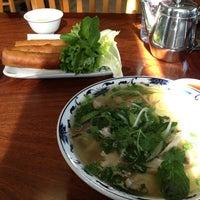 Photo taken at Pho Hoa Hiep Restaurant by Xavier V. on 1/22/2013