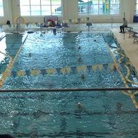 Photo taken at Cumming Aquatic Center by Chrissie B. on 11/7/2015