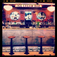 Photo taken at The Ice Cream Bar Soda Fountain by Lauren R. on 4/22/2013