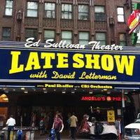 Photo taken at Ed Sullivan Theater by Ansel S. on 6/23/2013