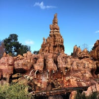 Photo taken at Big Thunder Mountain Railroad by Carmen on 1/6/2013
