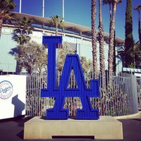 Photo taken at Dodger Stadium by Carmen on 6/11/2013