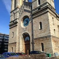 Photo taken at Kaarli kirik by andres m. on 4/6/2013
