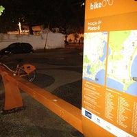 Photo taken at BikeRio - Estação 04 by João Luiz F. on 10/6/2013