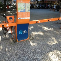 Photo taken at BikeRio - Estação 40 Largo do Machado by João Luiz F. on 9/2/2013