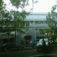 Photo taken at Universitas Katolik Parahyangan (UNPAR) by Lorraine H. on 10/8/2012