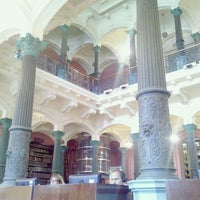 Photo taken at Biblioteca Nacional by Helio L. on 11/21/2012