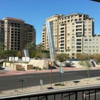 Photo taken at Soleri Bridge & Plaza by Rosario S. on 12/28/2012