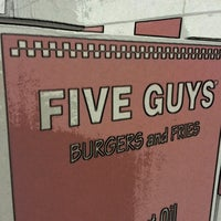 Photo taken at Five Guys by Peter S. on 8/9/2013